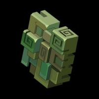 Cubist Shield